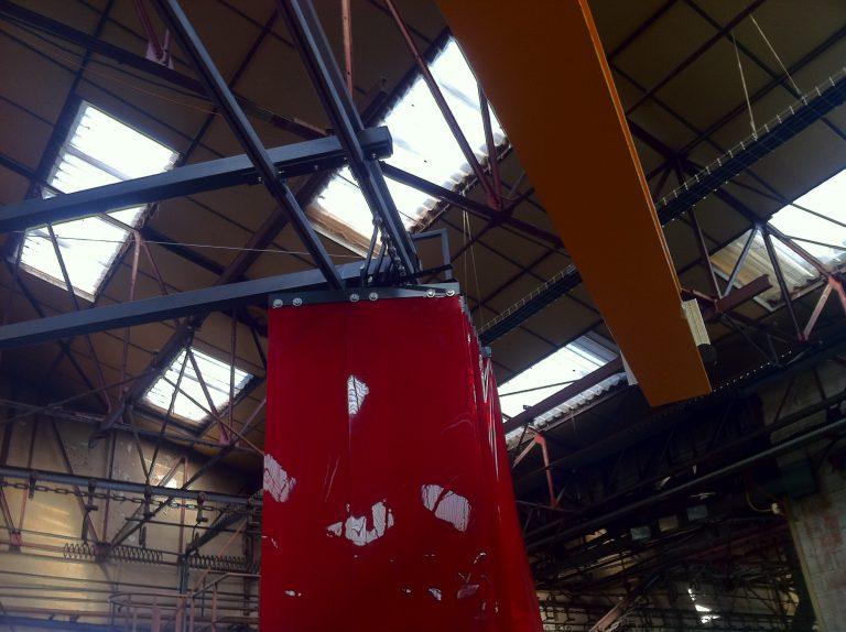 système pneumatique de fermetrure de rideaux de soudure 3